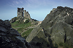 Mow Cop Sham Castle, Mow Cop, near Congleton Cheshire England. Mysterious Britain published by Orion
