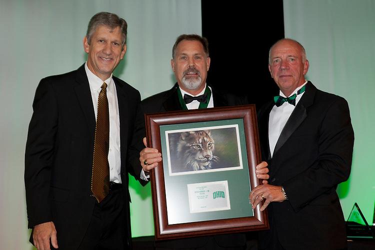 Bryan Oswald at Ohio University Alumni Association's Annual Awards Gala at Baker University Center on October 11, 2013.