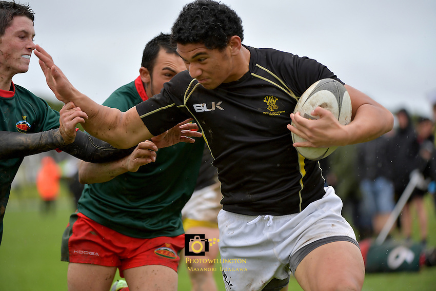 U16 Rugby - Wellington U16B v Wairarapa Bush U16 at Petone Rec, Lower Hutt, New Zealand on Saturday 17 September 2016.<br />