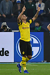 08.12.2018, Veltins-Arena, Gelsenkirchen, GER, 1. FBL, FC Schalke 04 vs. Borussia Dortmund, DFL regulations prohibit any use of photographs as image sequences and/or quasi-video<br /> <br /> im Bild Jadon Sancho (#7, Borussia Dortmund) jubelt nach seinem Tor zum 1:2<br /> <br /> Foto © nordphoto/Mauelshagen