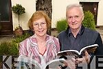 TOP OF THE CLASS: Joan Murphy (Tarbert) and Denis Dennison (Abbeyfeale)  who retired from their teaching posts at St. Itas College in Abbeyfeale on Friday last. .