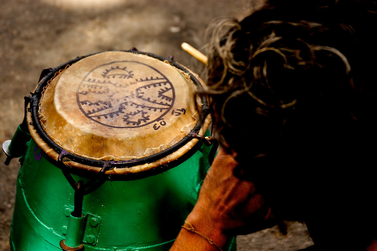 La Gozadera, Cuerda de Tambores (drums).