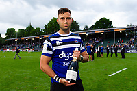 Max Green of Bath Rugby for Pol Roger. Gallagher Premiership match, between Bath Rugby and Gloucester Rugby on September 8, 2018 at the Recreation Ground in Bath, England. Photo by: Patrick Khachfe / Onside Images