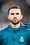 Borja Mayoral of Real Madrid getting into the field during the Europe Champions League 2017-18 match between Real Madrid and Borussia Dortmund at Santiago Bernabeu Stadium on 06 December 2017 in Madrid Spain. Photo by Diego Gonzalez / Power Sport Images
