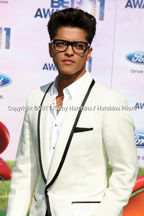 LOS ANGELES - JUN 26:  Bruno Mars arriving at the 11th Annual BET Awards at Shrine Auditorium on June 26, 2004 in Los Angeles, CA