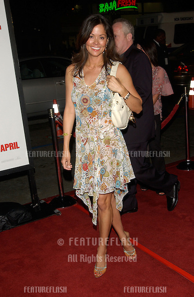 Actress BROOKE BURKE at the world premiere, in Hollywood, of Walking Tall..March 29, 2004