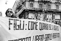 - women's demonstration for the abortion (Milan, 1976)<br /> <br /> - manifestazione femminista per l'aborto (Milano,1976)
