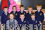 NEW KIDS ON THE BLOCK: The new junior infants class of Anabla NS, Kilcummin who started school this week are front l-r: Aislinn, Mark and Aileen. Back l-r: Cathal, Shane, Danny, Luke and Kyle.   Copyright Kerry's Eye 2008