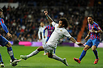 Real Madrid´s Marcelo Vieira during 2014-15 La Liga match between Real Madrid and Levante UD at Santiago Bernabeu stadium in Madrid, Spain. March 15, 2015. (ALTERPHOTOS/Luis Fernandez)