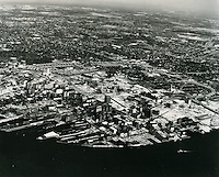 UNDATED..Historical..Aerial view looking Norteast..NEG#.NRHA#..