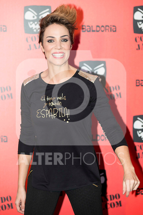 Nerea Garmendia attends the presentation of the brand &quot;Comando Jaza&quot; in Madrid, December 14, 2015<br /> (ALTERPHOTOS/BorjaB.Hojas)