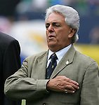 24 June 2007:  Justino Compean, president of the Federacion Mexicana de Futbol Asociacion. The United States Men's National Team defeated the national team of Mexico 2-1 in the CONCACAF Gold Cup Final at Soldier Field in Chicago, Illinois.