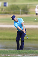 David Horsey (ENG) chips onto the 16th green during Saturday's Round 3 of the Porsche European Open 2018 held at Green Eagle Golf Courses, Hamburg Germany. 28th July 2018.<br /> Picture: Eoin Clarke | Golffile<br /> <br /> <br /> All photos usage must carry mandatory copyright credit (&copy; Golffile | Eoin Clarke)