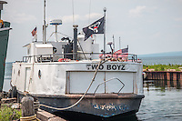 Fishing Boat Apostle Islands National Seashore Bayfield Wisconsin.