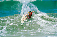 Biarritz France. Shane Herring (AUS) competing in the Quiksilver Pro Biarritz, in the South West region of France. circa 1992 Photo: joliphotos.com