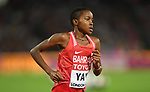 Winfred Mutile YAVI (BRN) in the womens 3000m steeplechase final. IAAF world athletics championships. London Olympic stadium. Queen Elizabeth Olympic park. Stratford. London. UK. 11/08/2017. ~ MANDATORY CREDIT Garry Bowden/SIPPA - NO UNAUTHORISED USE - +44 7837 394578