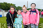 at the SPA National School Donal Walsh 6K Walk/Run Challenge on Sunday were Robin Kelly, Clara O'Dowd, Kate Mccarroll and Aoife Greaney