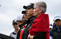Lydia Ko. Welcome powhiri. McKayson NZ Women's Golf Open, first Practice Round, Windross Farm Golf Course, Manukau, Auckland, New Zealand, Monday 25 September 2017.  Photo: Simon Watts/www.bwmedia.co.nz