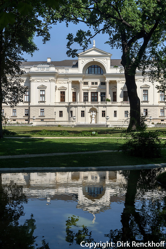 Palais Alserbach im Park des Palais Liechtenstein, Wien, &Ouml;sterreich, UNESCO-Weltkulturerbe<br /> Palais Alserbach in park of Palais Liechtenstein, Vienna, Austria, world heritage