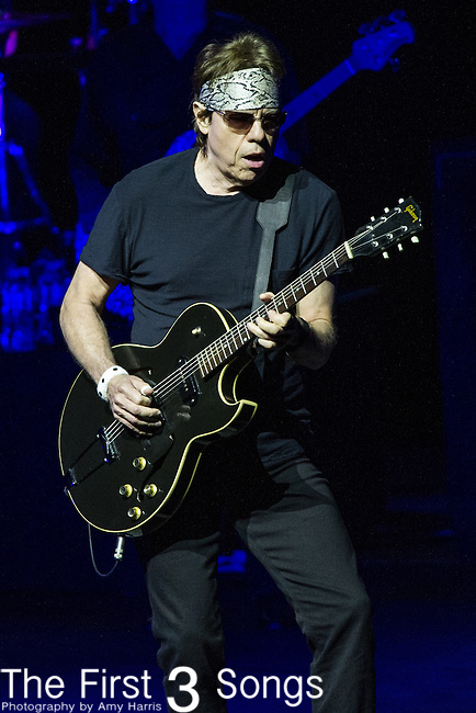 George Thorogood of George Thorogood & The Destroyers performs at PNC Pavilion in Cincinnati, Ohio.