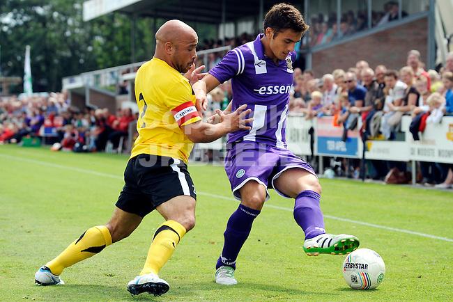 MUSSEL - SC Veendam - FC Groningen voorbereiding seizoen 2011-2012 , 16-07-2011