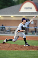 June 23rd 2008:  Pitcher Wade Korpi of the Jamestown Jammers, Class-affiliate of the Florida Marlins, during a game at Dwyer Stadium in Batavia, NY.  Photo by:  Mike Janes/Four Seam Images