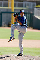 Justin Miller - Los Angeles Dodgers 2009 Instructional League. .Photo by:  Bill Mitchell/Four Seam Images..