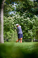 Amy Yang (KOR) watches her tee shot on 16 during Saturday's round 3 of the 2017 KPMG Women's PGA Championship, at Olympia Fields Country Club, Olympia Fields, Illinois. 7/1/2017.<br /> Picture: Golffile | Ken Murray<br /> <br /> <br /> All photo usage must carry mandatory copyright credit (&copy; Golffile | Ken Murray)