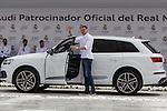 Jonas Maciulis during the Audi Car delivery, at the basketball players of the Real Madrid. May 25,2016. (ALTERPHOTOS/Rodrigo Jimenez)