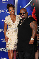 """Los Angeles - AUG 16:  CeeLo Green, Vivica A Fox arrives at the """"Sparkle""""  Premiere at Graumans Chinese Theater on August 16, 2012 in Los Angeles, CA"""