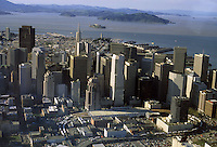 Aerial photo of San Francisco in 1995.