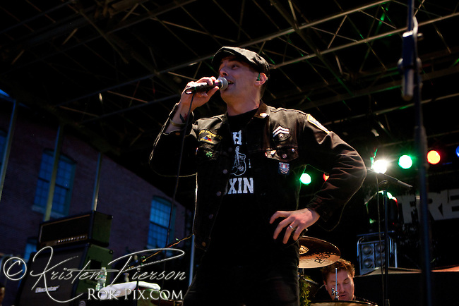 Street Dogs perform at the Whiskey Republic in Providence, Rhode Island on September 16, 2011