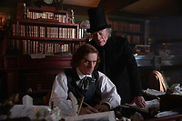 The Man Who Invented Christmas (2017) <br /> DAN STEVENS, CHRISTOPHER PLUMMER<br /> *Filmstill - Editorial Use Only*<br /> CAP/FB<br /> Image supplied by Capital Pictures
