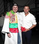 Merwin Foard & Clarke Thorell attending the Broadway Opening Night Performance  Gypsy Robe Ceremony celebrating Merwin Foard recipient  for 'Annie' at the Palace Theatre in New York City on 11/08/2012