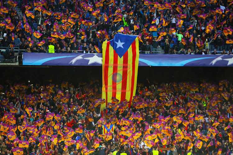 UEFA Champions League 2016/2017.<br /> Quarter-finals 2nd leg.<br /> FC Barcelona vs Juventus Football Club: 0-0.
