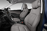 Front seat view of 2017 Hyundai Santa-Fe Sport 5 Door SUV Front Seat  car photos