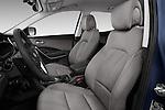Front seat view of 2017 Hyundai Santa-Fe Sport 5 Door SUV Front Seat  car photos