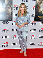 "LOS ANGELES, USA. November 20, 2019: Jade Pettyjohn at the gala screening for ""The Aeronauts"" as part of the AFI Fest 2019 at the TCL Chinese Theatre.<br /> Picture: Paul Smith/Featureflash"