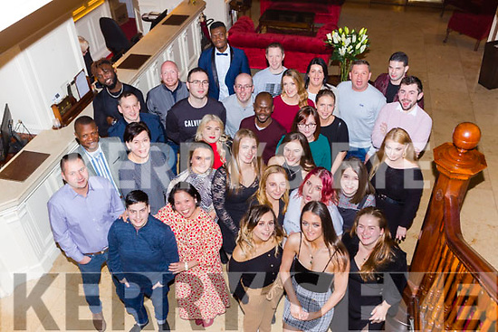The staff from Killarney Oaks Hotel enjoying their Christmas party in the International Hotel on Friday night
