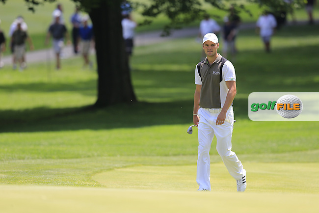Martin Kaymer (GER) at the 9th green during Thursday's Round 1 of the 2013 Bridgestone Invitational WGC tournament held at the Firestone Country Club, Akron, Ohio. 1st August 2013.<br /> Picture: Eoin Clarke www.golffile.ie