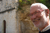 Noel Pinguet, winemaker, owner. Domaine Huet, Vouvray, Touraine, Loire, France