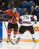 - Team Switzerland defeated Team Latvia 7-5 on Wednesday, December 30, 2009, at the Credit Union Centre in Saskatoon, Saskatchewan, during the 2010 World Juniors tournament.