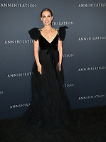 Natalie Portman at the premiere for &quot;Annihilation&quot; at the Regency Village Theatre, Los Angeles, USA 13 Feb. 2018<br /> Picture: Paul Smith/Featureflash/SilverHub 0208 004 5359 sales@silverhubmedia.com