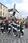 Killarney Sorchers  performings at the Killarney St Patricks Day parade on Sunday ..
