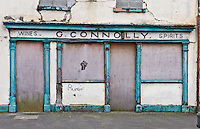 Dundalk, Barrack Street. Dundalk is a town that seems to have a pub on every street or several in the case of Barrack Street I have a photograph of this pub frontage taken ten years earlier