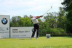Graeme Storm (ENG) in action on the 6th tee during Day 3 of the BMW Italian Open at Royal Park I Roveri, Turin, Italy, 11th June 2011 (Photo Eoin Clarke/Golffile 2011)