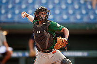 Jayden Melendez (8) of Westminster Christian School in Palmetto Bay, FL during the Perfect Game National Showcase at Hoover Metropolitan Stadium on June 18, 2020 in Hoover, Alabama. (Mike Janes/Four Seam Images)