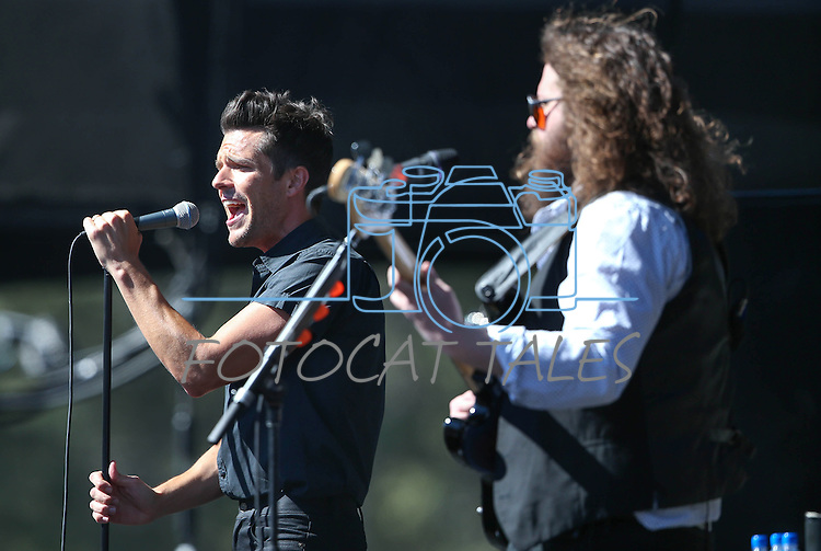 Brandon Flowers and The Killers perform at the 20th annual Tahoe Summit in Stateline, Nev., on Wednesday, Aug. 31, 2016. The annual event focuses on environmental protection of Lake Tahoe. Cathleen Allison/Las Vegas Review-Journal