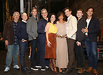 """Harvey Fierstein, Richie Jackson, Ward Horton, Moises Kaufman, Roxanna Hope Radja, Mercedes Reuhl, Michael Urie, Jack DiFalco and Michael Hsu Rosen attend the Broadway cast photo call for """"Torch Song"""" at the Hayes Theatre on September 20, 2018 in New York City."""