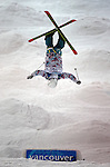 VANCOUVER, BC - FEBRUARY 13:  Miki Ito of Japan competes during the Women's Freestyle Mogul Prelims at the 2010 Vancouver Winter Olympics at Cyprus Mountain on February 13, 2010 in Vancouver, Canada. (Photo by Donald Miralle)